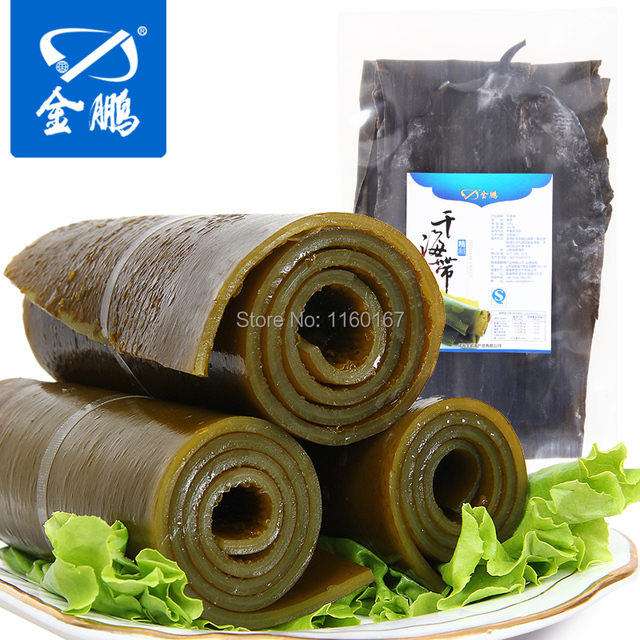 Rongcheng, Shandong Jinpeng Hai specialty specialty dry with dried seaweed dried seaweed wakame seaweed kelp root 350g
