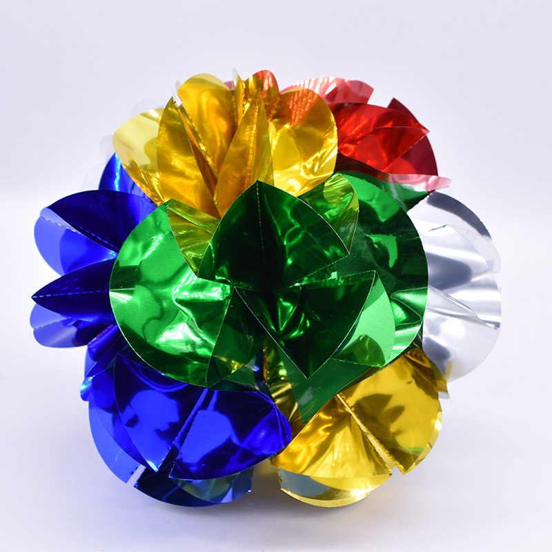 Appearing Ball Flower Spring Flowers (Dia 24cm) Magic Tricks Stage Illusions Gimmick Accessories Appear Large Bouquet Magia