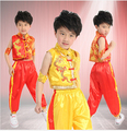 Free Shipping Discount Hot Sale Child Kids Boy Chinese Traditional Clothing Kungfu Suit Kung Fu Uniform