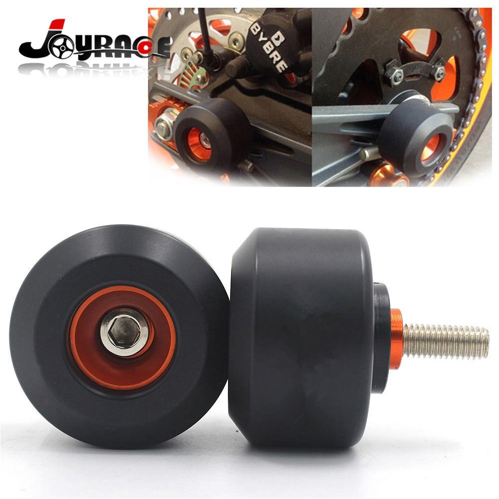 KTM Parts Motorcycle Rear Fork Wheel Frame Slider Crash Protector For KTM DUKE 125/200/390