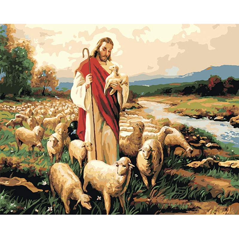 Top 9 Most Popular Oil Painting Hand Painted Jesus Ideas And Get Free Shipping K173l53j7