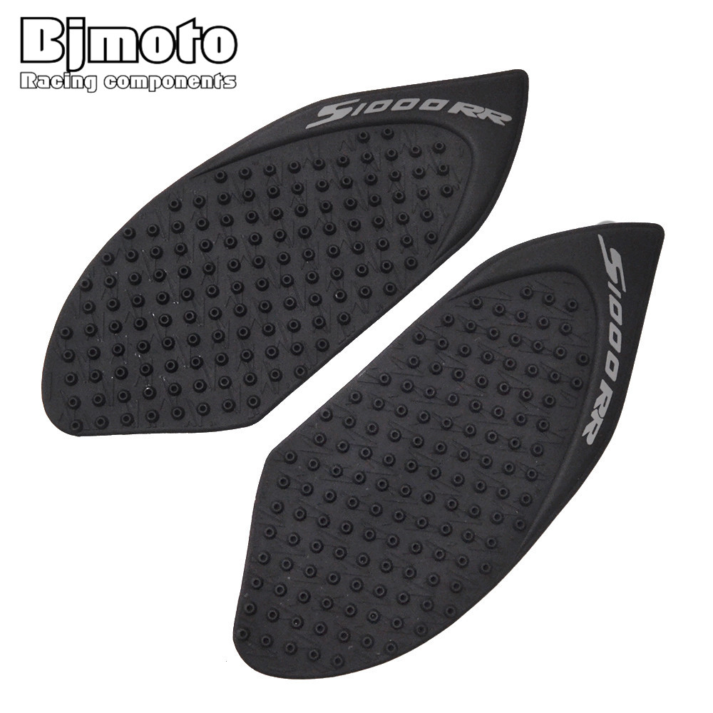 BJMOTO For BMW S1000RR 2010-2015 Motorcycle Tank Pad Protector Sticker Decal Gas Knee Grip Tank Traction Pad Side Black scoyco k11h11 motorcycle sports knee elbow protector pad guard kit black