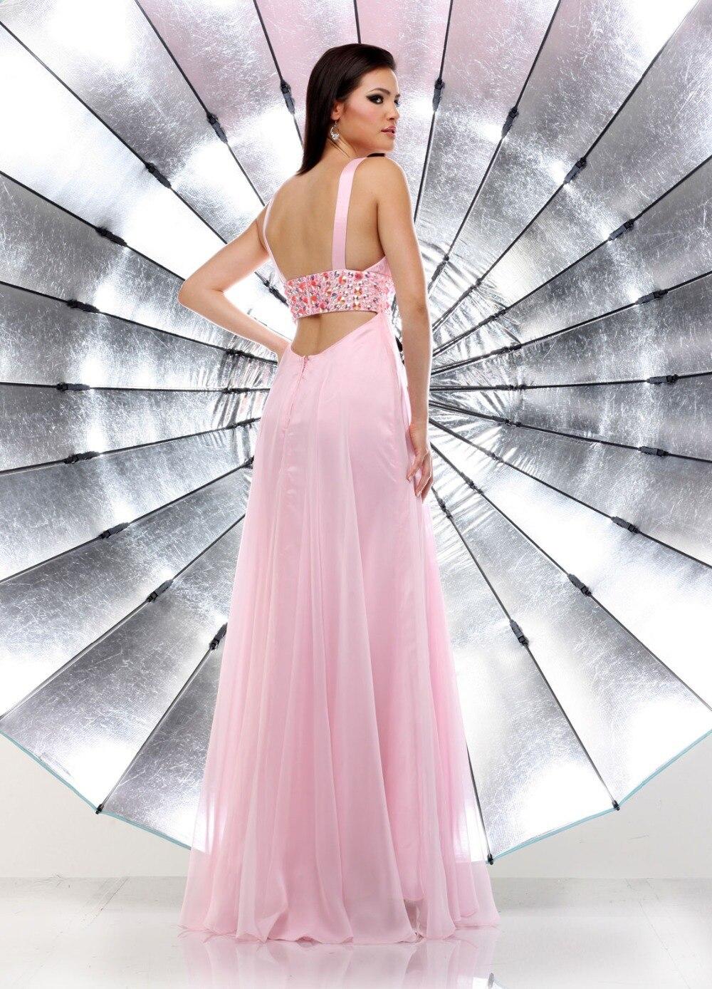 Famoso Baile Vestidos Largos De Color Rosa Inspiración - Ideas de ...