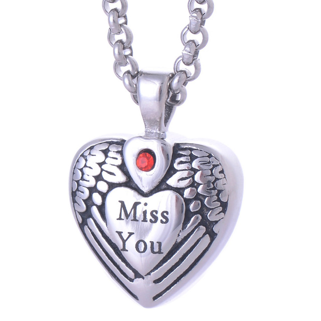 316l stainless steel pet urns cremation jewelry ashes pendant 316l stainless steel pet urns cremation jewelry ashes pendant necklace memorial keepsake ly005 mozeypictures Images