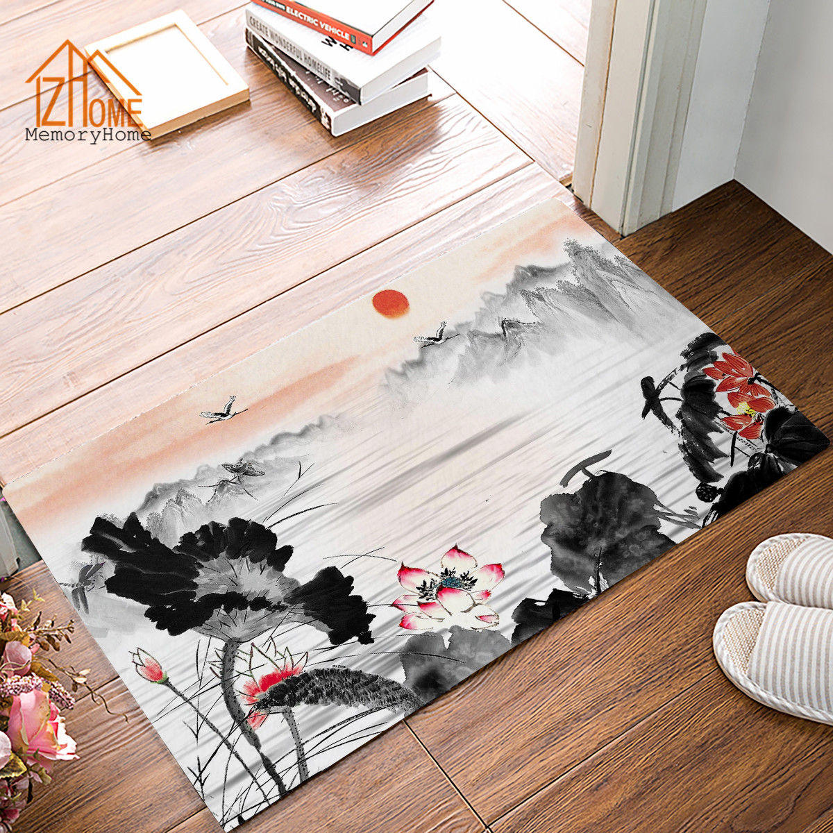New China Kitchen 2: Memory Home New Chinese Landscape Painting Design Non