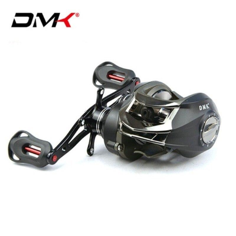 DMK ROCKET 14BB 6.3: 1 moulinets De pêche Baitcasting main droite/gauche 8 kg moule De traînée pour Carretilhas De Pescaria bobine De Carpe