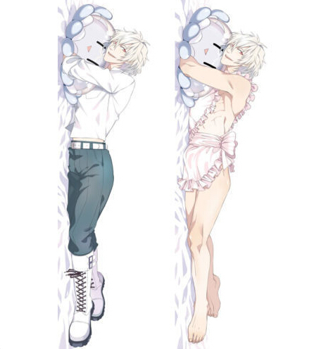 Japan Anime DMMD Dramatical Murder Clear Male BL Hugging Body Pillow Cover Case 12073  -  365 days anime store store