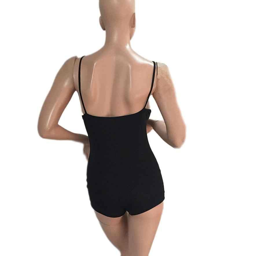 2018 новые женские модные хлопковые повседневные Черные богемное стильное пляжное шорты комбинезон, комбидресс, боди 30 Apr 2