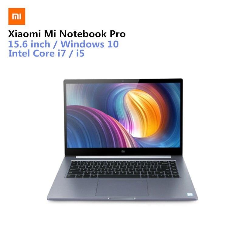 Xiaomi Mi Тетрадь Pro Xiaomi Mi ноутбука 15,6 ''Win10 Intel Core I7-8550U NVIDIA GeForce MX150 16 ГБ Оперативная память 256 ГБ SSD отпечатков пальцев