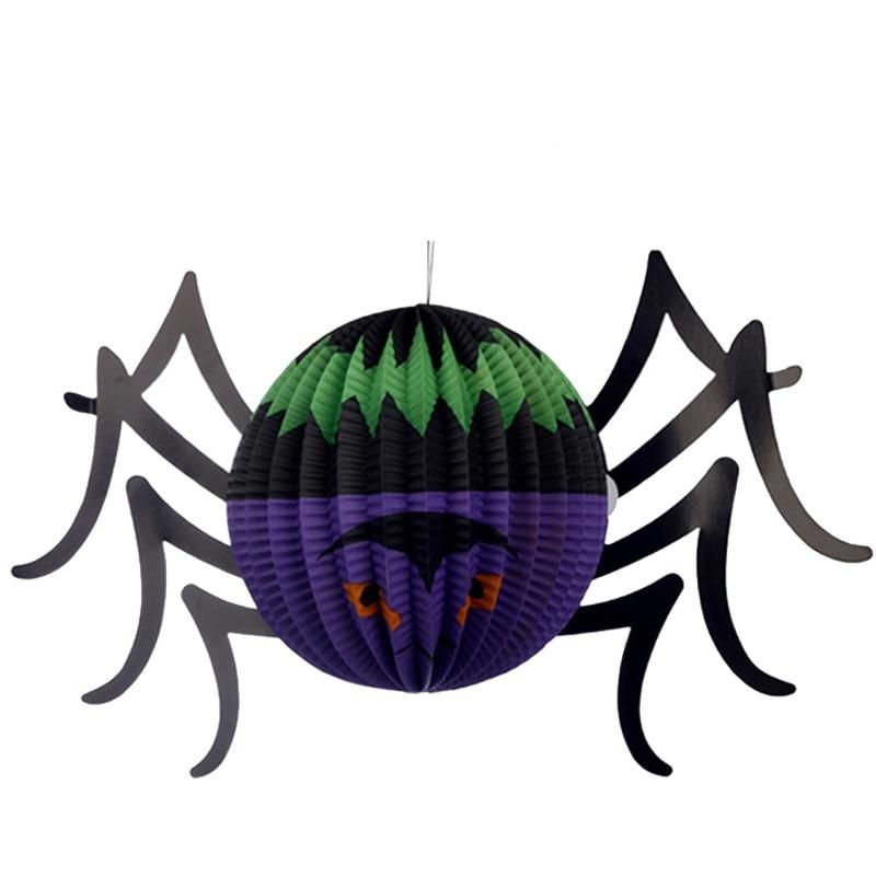New Pattern Halloween Pumpkin Ghost Bat Spider Witch Paper