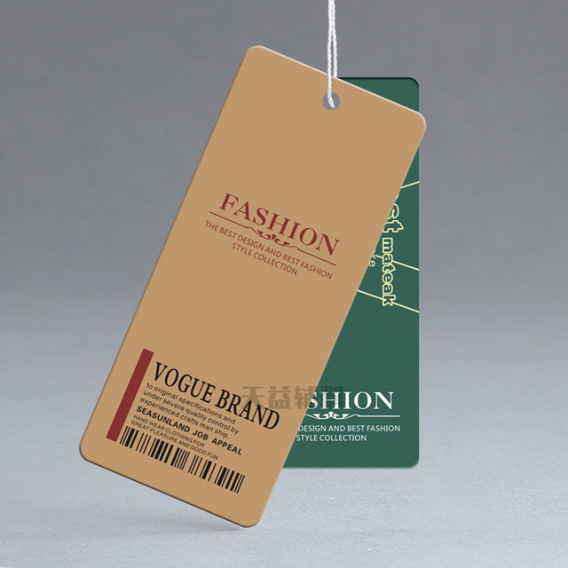 custom clothing clothing label tag fashionable men and women