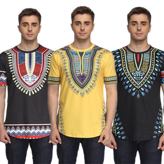 2018 bazin men s t shirt african dresses for men traditional rich
