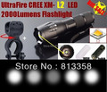 AUTHENTIC100 % E17 CREE XM-L2 3800 Люмен велосипед Масштабируемые CREE СВЕТОДИОДНЫЙ фонарик Факел + крепления Для 3 аа или 1x18650 батареи
