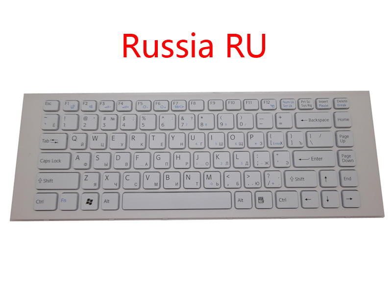 For Sony Vaio 9Z.N7ASW.101 US Keyboard