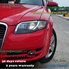 Hireno Car Styling Head Lamp For 2005 2008 Audi A4 B7 Headlights LED Headlight Assembly DRL