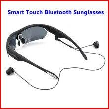 K2 Smart Touch Polarizada Óculos De Sol Do Bluetooth 4.0 Estéreo Fone De Ouvido fone de Ouvido Controle de Voz w/Mic Para o iphone Samsung LG Xiaomi HTC