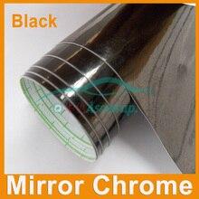 Vinilo cromado para espejo de coche, pegatina de vinilo para revestimiento de espejo cromado, decoración de coche con canales al aire