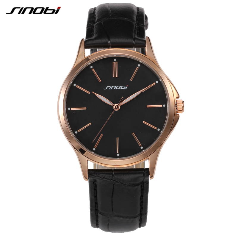 new fashion sinobi gold analog display