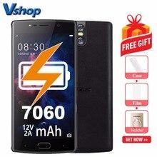 Orijinal DOOGEE BL7000 4g Cep Telefonları Android 7.0 4 gb + 64 gb Octa Çekirdek Smartphone 1080 p Çift arka Kameralar 5.5 inç C...