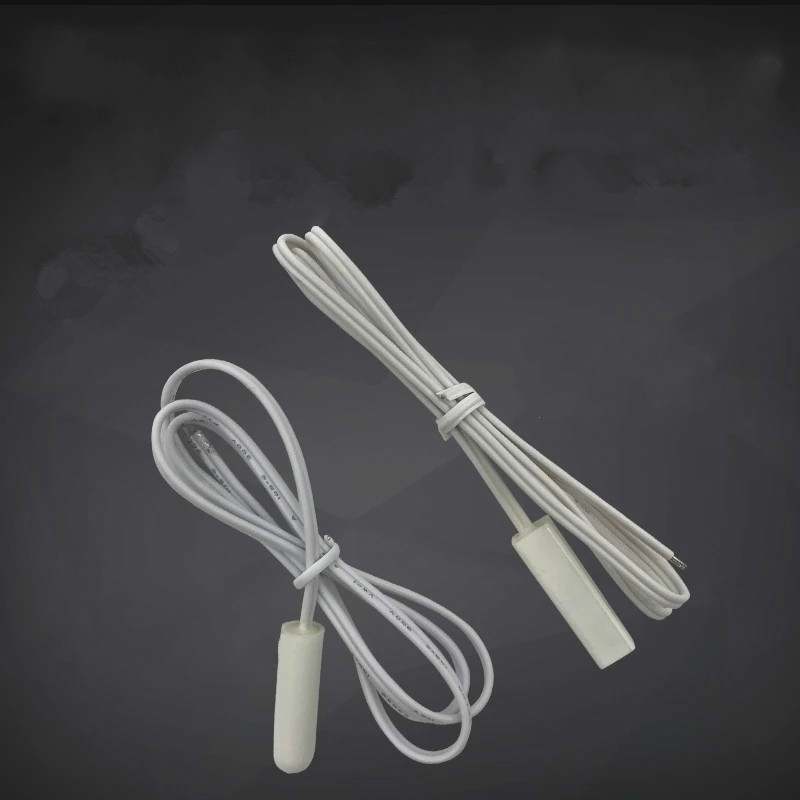 2 types new Haier frost-free refrigerator accessories defrost sensor probe temperature defrosting probe 2.0K original new for haier frost free refrigerator parts defrost sensor probe temperature bcd 518ws 00606150125