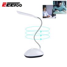 EeeToo LED Book Light Reading Lamp Table Lamps Bright Flexible Lighting No Harm Eye Children Bedroom Night Light Batteries Power(China)