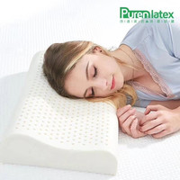 ZX C003 Thailand Natural Latex Baby Pillow Healthy Cervical Sleeping Bedding Orthopedic Kids Neck Pillow Child Latex Oreiller