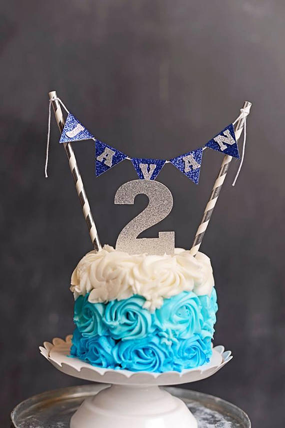 Groovy Personalized Navy And Silver Prince Birthday Smash Cake Buntings Funny Birthday Cards Online Inifofree Goldxyz