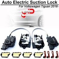 CARBAR Smart Auto Car Electric Suction Door Lock for Volkswagen VW Tiguan Automatic Soft Close Super Silence Self priming Door