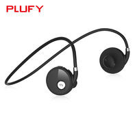 Plufy Wireless Bluetooth Earphone Sport Stereo Headset Noise Cancelling Ear Hook Headphone With MIC For Iphone