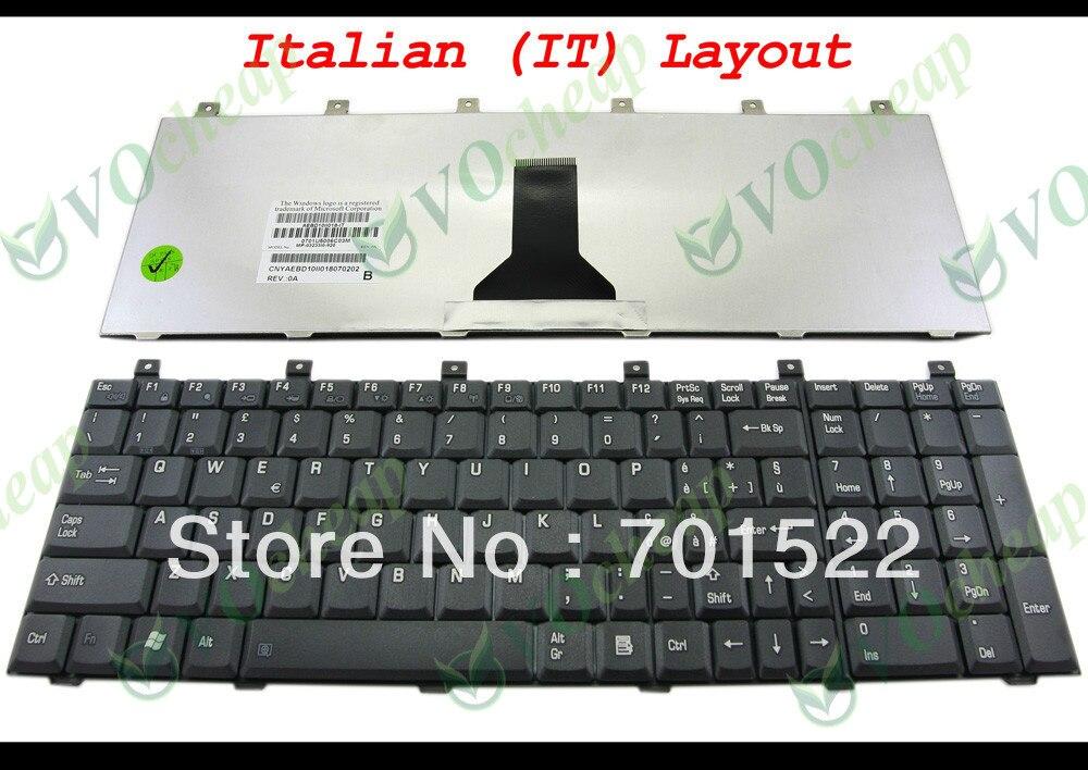 Beminnelijk Nieuwe Laptop Toetsenbord Voor Toshiba Satellite M60 M65 P100 P105 Pro L100 Zwart Het (italiaanse) * Verion-mp-03233i0-920 Kortingen Prijs