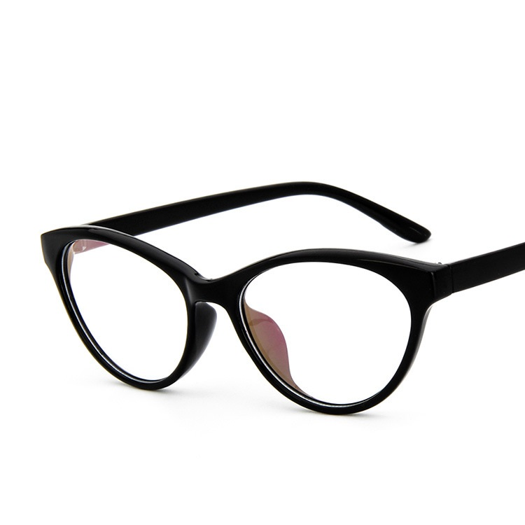 vintage retro cat eye glasses frames for women ultra light optical glasses frame female myopia