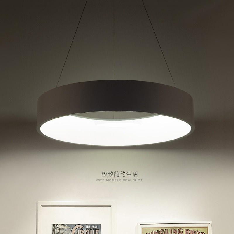 Minimalism agățat Modern Led Pandantiv Lumini pentru Sufragerie Bar - Iluminatul interior - Fotografie 3
