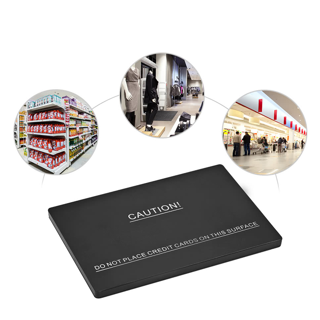 No Power Needed DR Soft Label Tag Deactivator Pad with Back EVA Adhesive Tape for EAS AM System Security 58KHz DR Labels rf8 2mhz deactivator for security label eas also can test eas security tag with sound and light alarm page 7