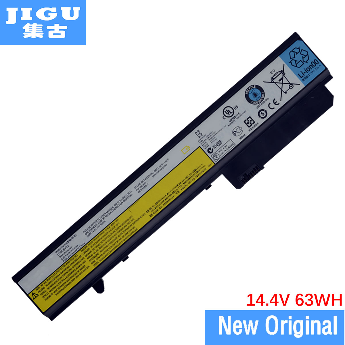 все цены на JIGU L09N8T22 L09N8Y22 L09P8Y22 LO9P8Y22 Original Laptop Battery For Lenovo IdeaPad U460 14.4V 63WH онлайн