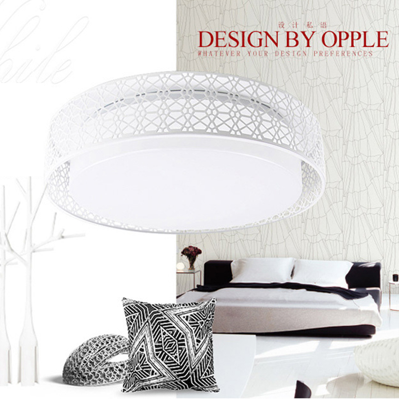 Modern Smart Remote Control Eye-protective LED Ceiling Lamp APP 3-level Dimming Home Bedroom Living Room Ceiling Lights Fixture 2014new product 24w 2 4g rf touch remote control led ceiling panel 5630smd led lamp non polar dimming color temperature