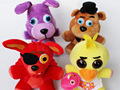 Free shipping 4pcs/lot 25cm Five Nights at Freddy Plush bonnie freddy toys for children