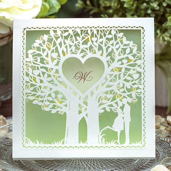 1000 Images About Invites On Pinterest Trees Letterpress Wedding Invitationaidenhair Fern