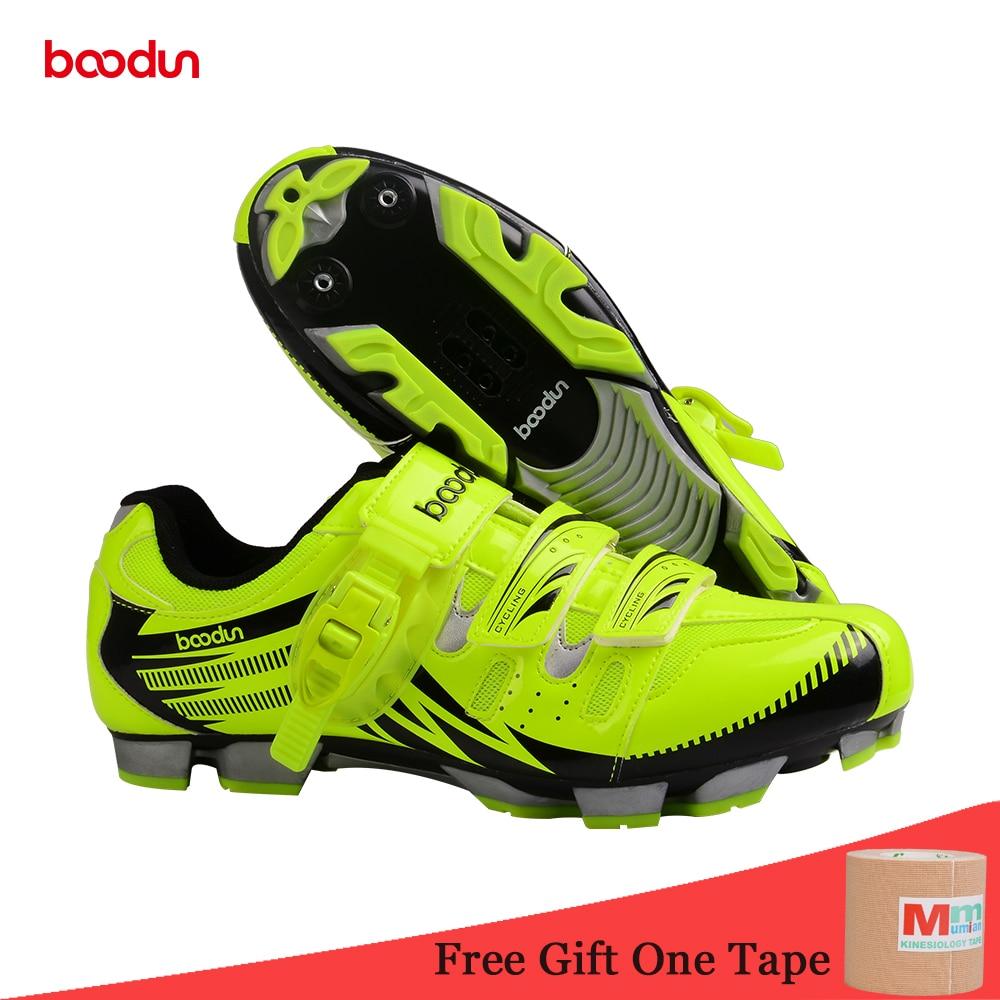 Кроссовки Новая дышащая Профессиональный самоконтрящаяся Велоспорт обувь MTB велосипеда обувь Нескользящая велосипед обувь Sapatos de ciclismo EU35-46