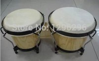 free shipping Oak bongos drum (Bongo) Bongo drummer African drum/African drum percussion instruments