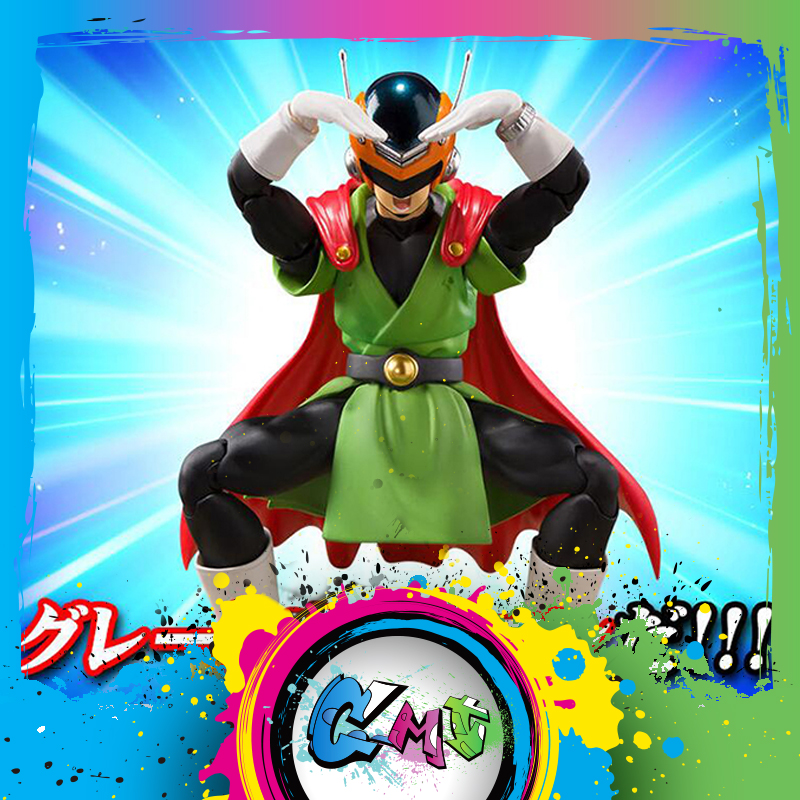 CMT In Stock Bandai Dragon Ball Z DBZ Great Saiyaman Super Saiyan Son Gohan Action Figure