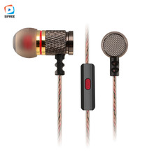 New KZ-ED2 Professional In-Ear Earphone Metal Heavy Bass Sound Quality Music Earphone Headset For smartphone with Mic