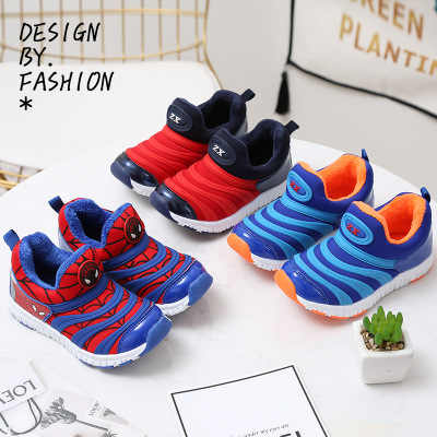 Spider Men Girls & Boys Caterpillar Shoes Children Shoes Fashion Kids Sneakers Sports Casual For Toddler & Big Kids Sport Shoes