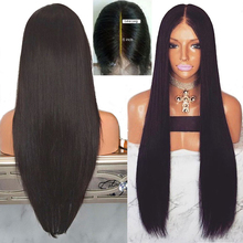 Marquesha 13*6 Black Synthetic Lace Front Wig Left Parting S