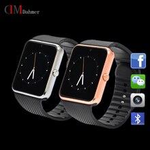Neue Smart Uhr Original GT08 Uhr Sync Notifier Unterstützung Sim-karte Bluetooth-konnektivität Apple iphone Android Telefon Smartwatch