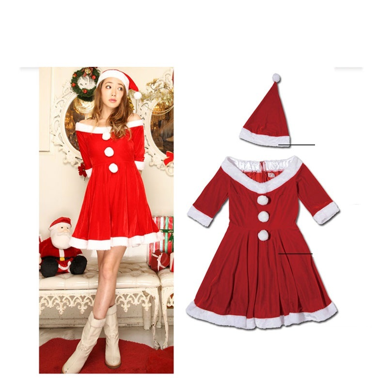 christmas costumes for womensexy christmas costumechristmas elf costume for women - White Christmas Costumes