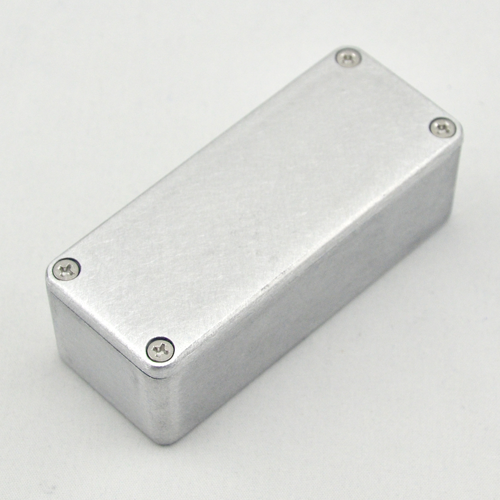 5 X Nieuwe 1590A Aluminium Metalen Stomp Box Case Behuizing Gitaar - Muziekinstrumenten - Foto 3