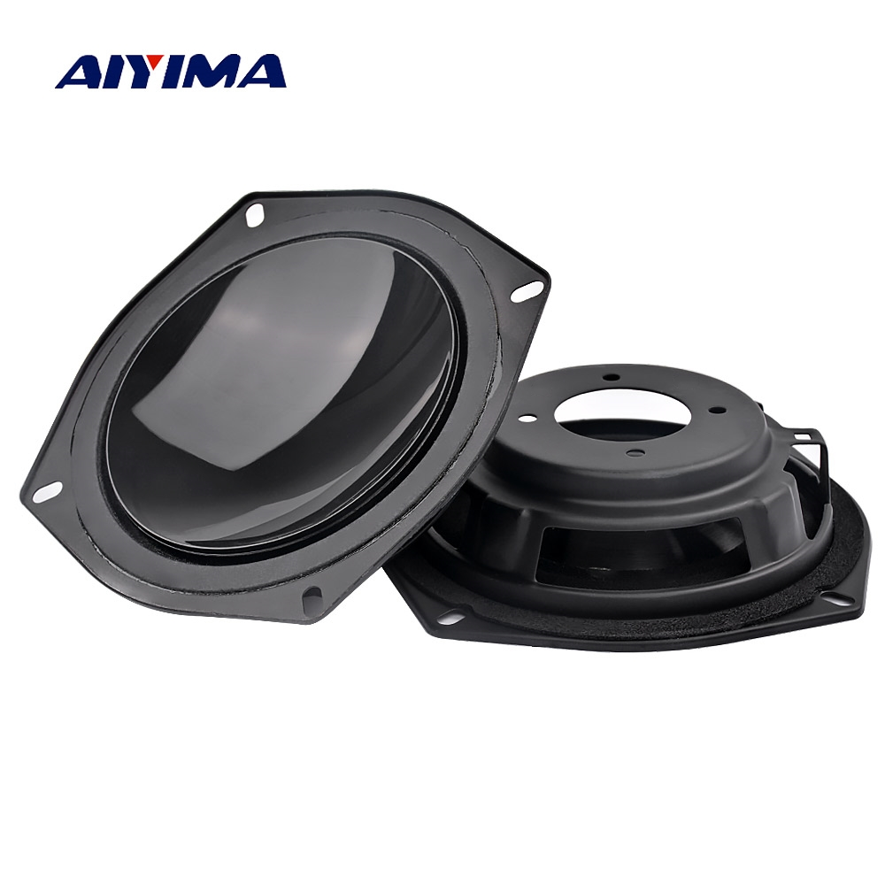 AIYIMA 4.5 Inch 113mm Bass Radiator Passive Radiator Speaker Auxiliary Subwoofer Rubber Plate For 4