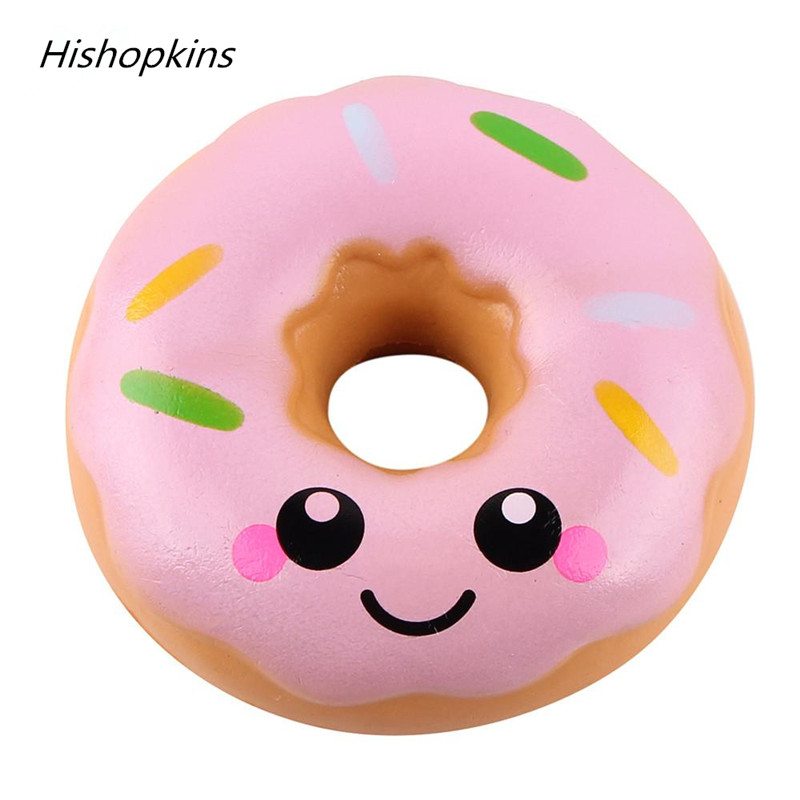 Donuts Squeeze Toys 10cm Lovely Doughnut Cream Scented Squishy Slow Rising Squeeze Toys Collection Sweet Smelling