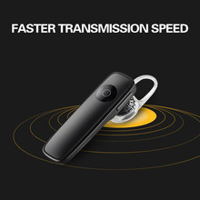 M165 Bluetooth 4.1 Headset Ultralight Wireless Earphone Hands-free Earloop Earbuds Sports Calls Music Earpieces for Smartphone