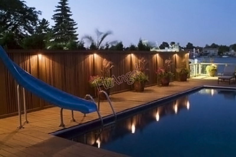 Lovely Waterproof Outdoor Sensor Lighting Solar Powered LED Lights Fence Roof  Gutter Garden Wall Decoration Lamps ITimo #HA10458 In Solar Lamps From  Lights ...